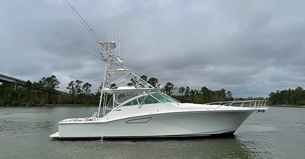 white chartered fishing boat - Come and Take It Sport Fishing